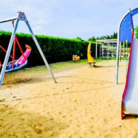 Aire de jeux camping Normandie