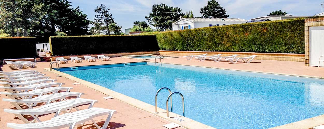 Camping 4 étoiles avec piscine Normandie