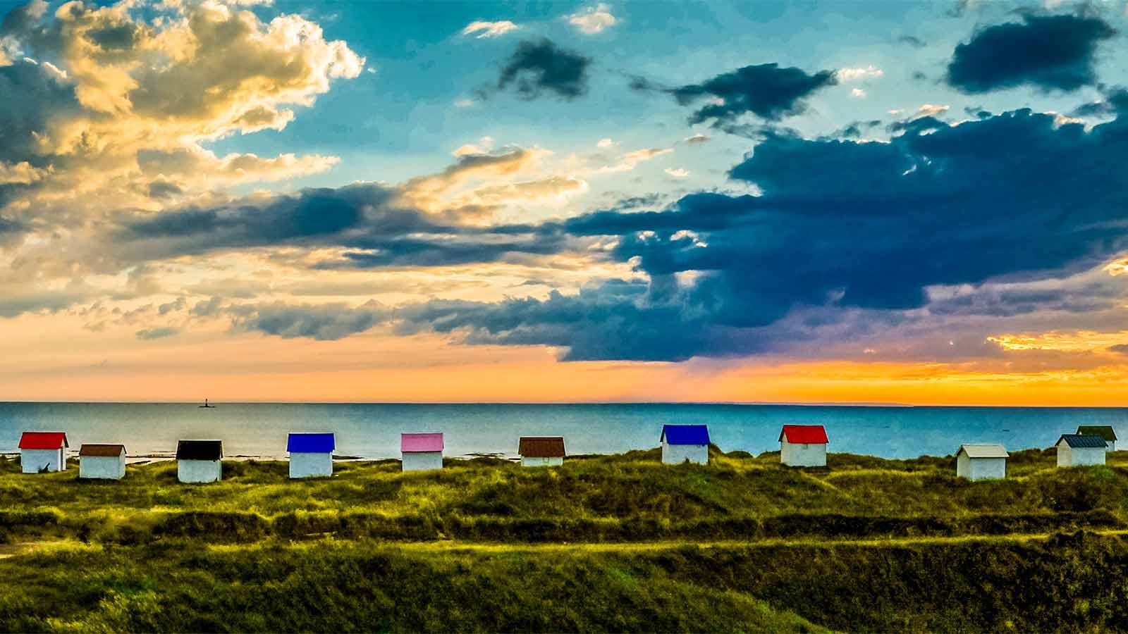 Camping manche gouville sur mer location vacances for Camping basse normandie bord de mer avec piscine