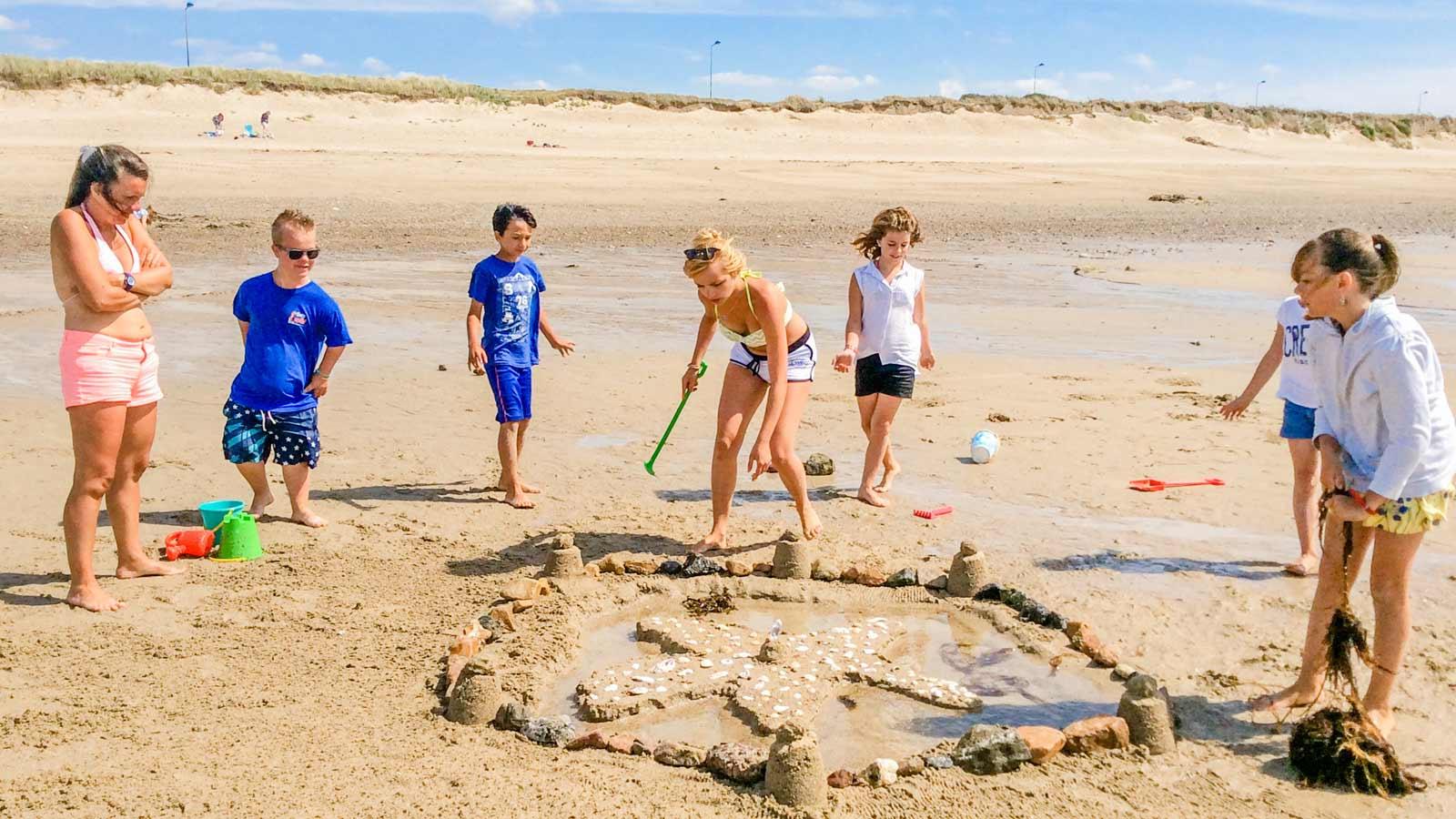 Camping plage Normandie