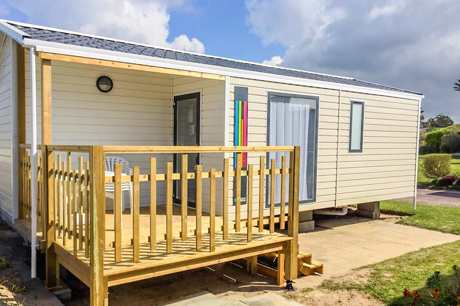 Mobil-home camping Normandie