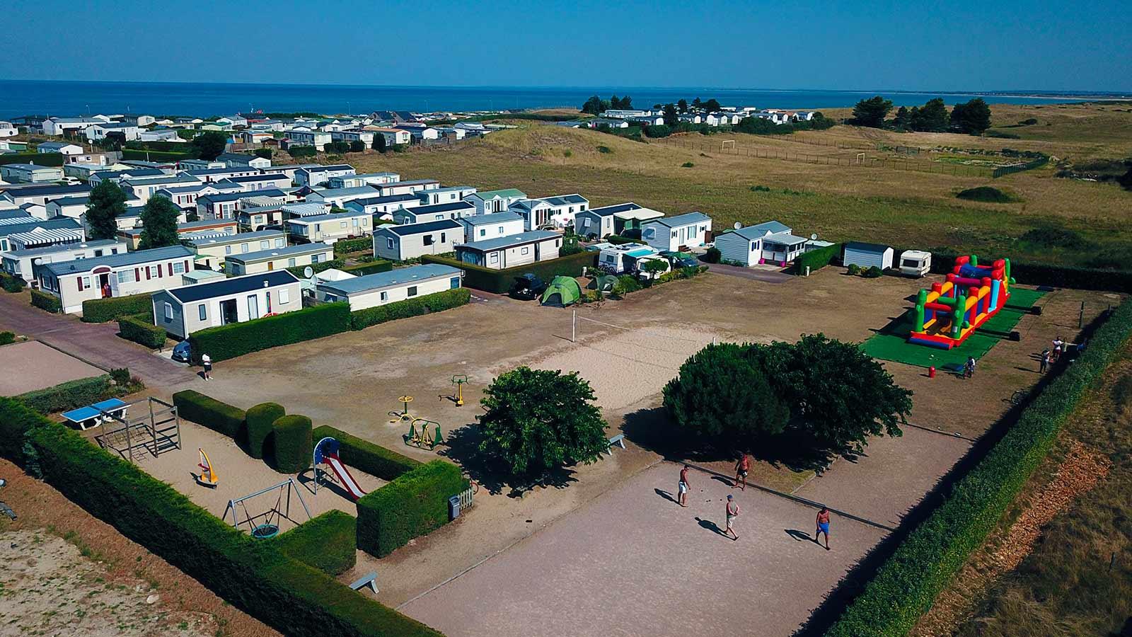 camping pour vacances en famille en normandie