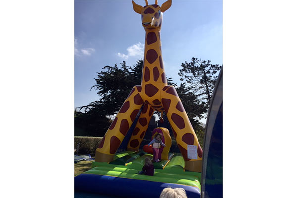 camping jeux gonflables normandie