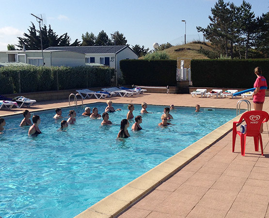 camping avec piscine en normandie